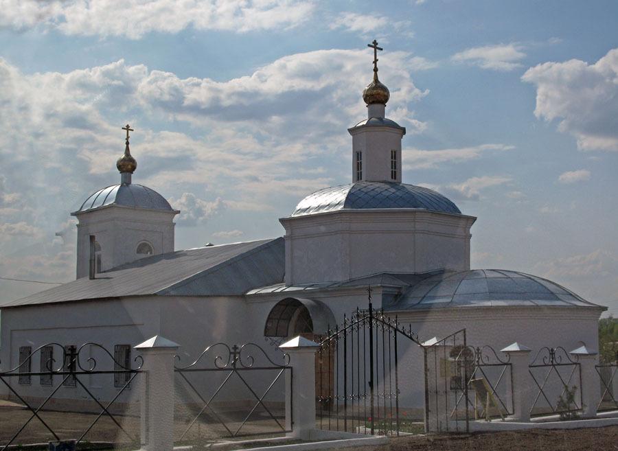 Свято-Никольский храм, с. Высоцкое